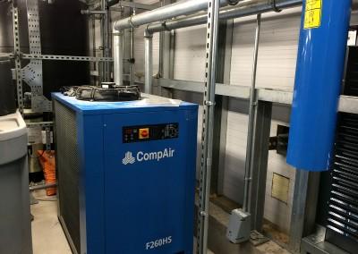 Air compressor at Bristol University