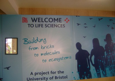 Life Sciences welcome at Bristol University