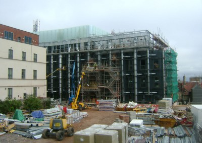 Over view of Bristol life sciences project at Bristol University