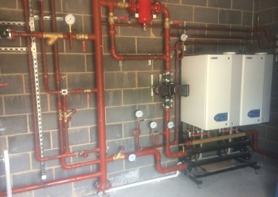 Hamworthy fleet module boilers at Eversfield Prep School