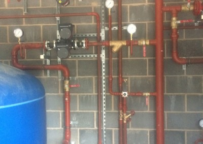 Plant room at Eversfield
