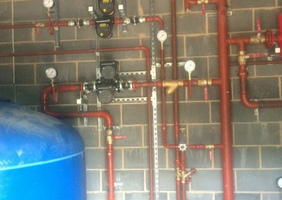 VT and CT and plate heat exchanger pumps at Eversfield Prep School