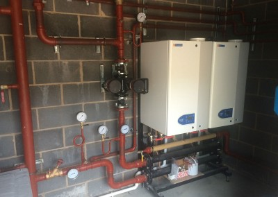 Boilers & shunt pump at Eversfield Prep School