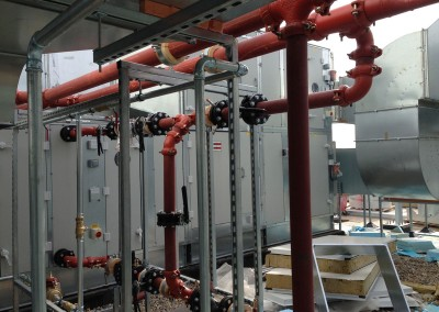 AHU and frost coils at Resorts World NEC