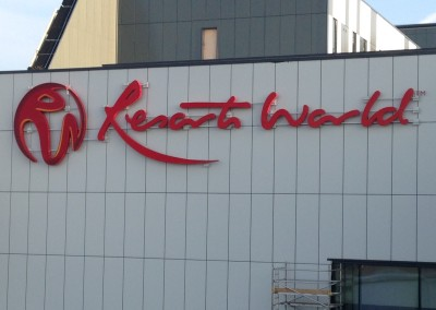 Exterior of Resorts World NEC