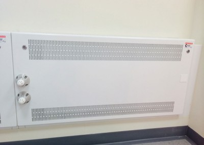Anti-ligature radiator
