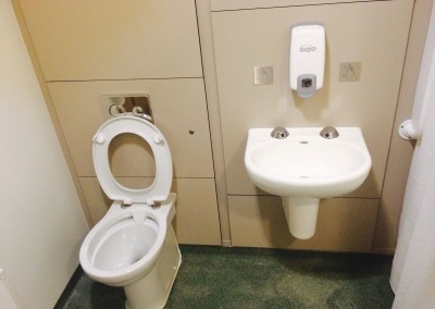 Anti-ligature toilet and sink