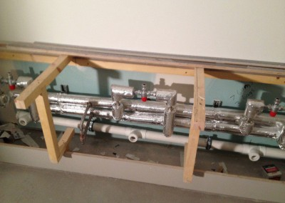 First fix sinks at John Lewis Birmingham