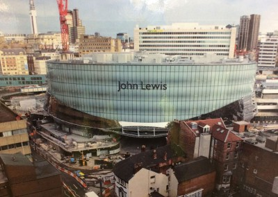 John Lewis adjacent to Birmingham New Street Station