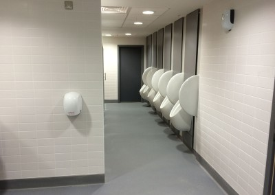 Male toilets at Birmingham New Street Station