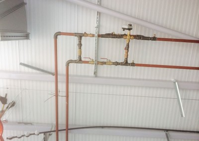 3 port valve arrangement for refectory AHU at Solihull College