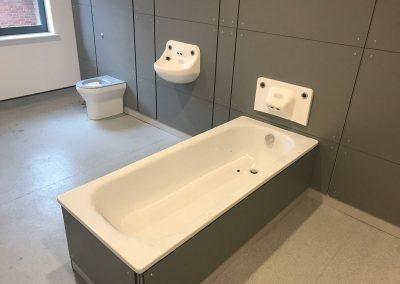 Anti lig bath at Cygnet Healthcare