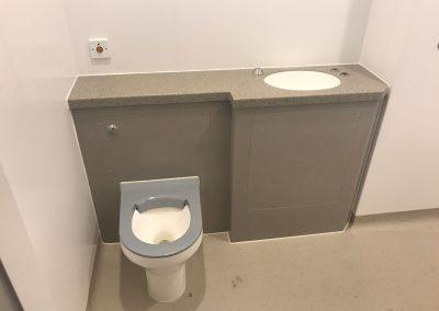 Anti lig toilet at Cygnet Healthcare