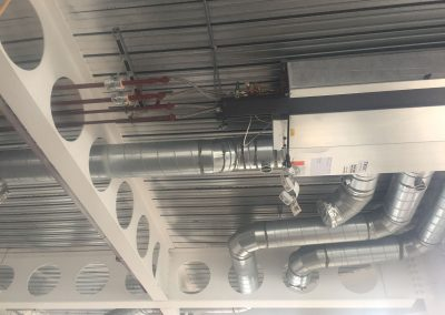 Typical fan coil at HSBC Birmingham