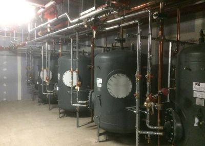 Resorts World pipework installation 3